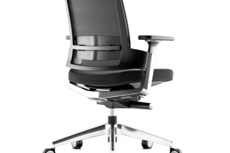 Las nuevas sillas de oficina.