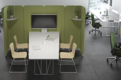 ¿Como será el mobiliario de oficina del futuro?