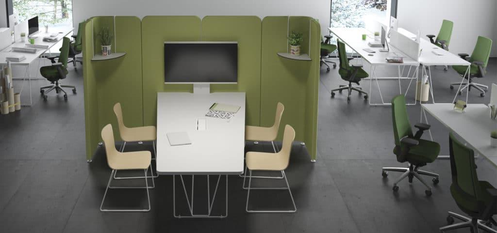 muebles smart para puestos de trabajo