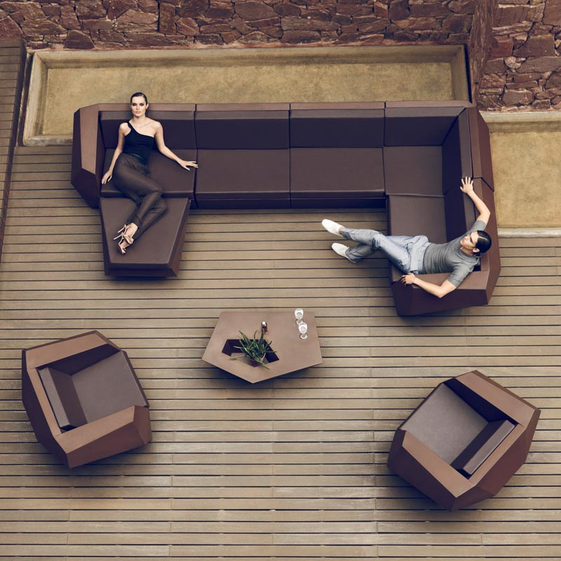 Mobiliario de exterior en Leon