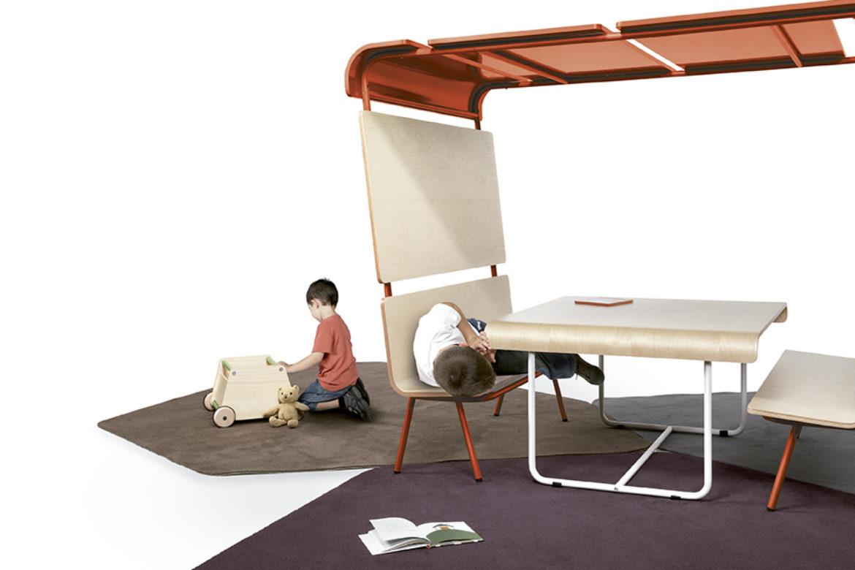 Productos diferenciadores en mobiliario para niños.