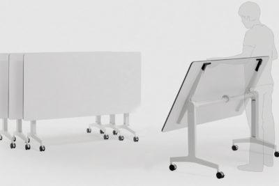 Mesas abatibles de oficina