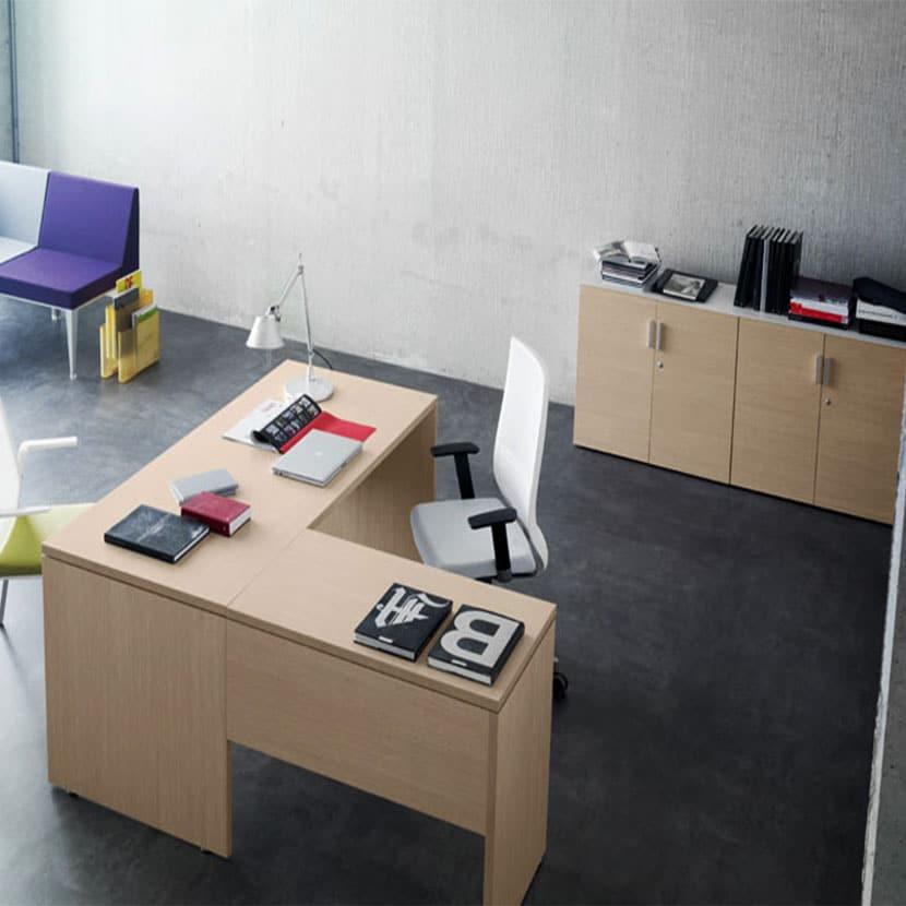 Ala de mesa de oficina Blok