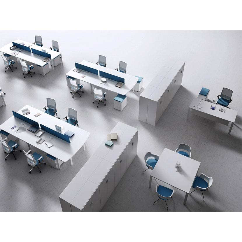 Dividir espacios con armarios de oficina