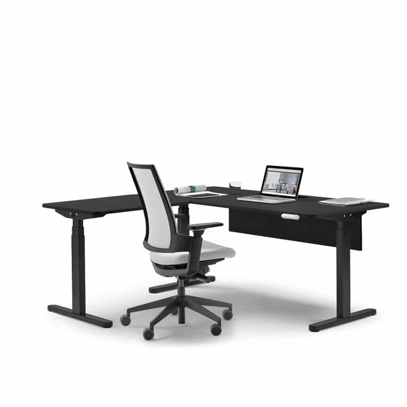 Mesa de oficina SKALA regulable en altura - 3C Equipamientos