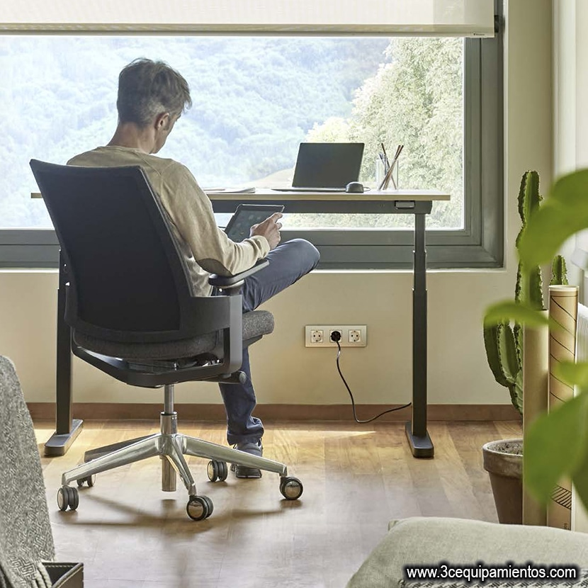 Calidad y regulacion ergonomicas en tu silla de trabajo en casa