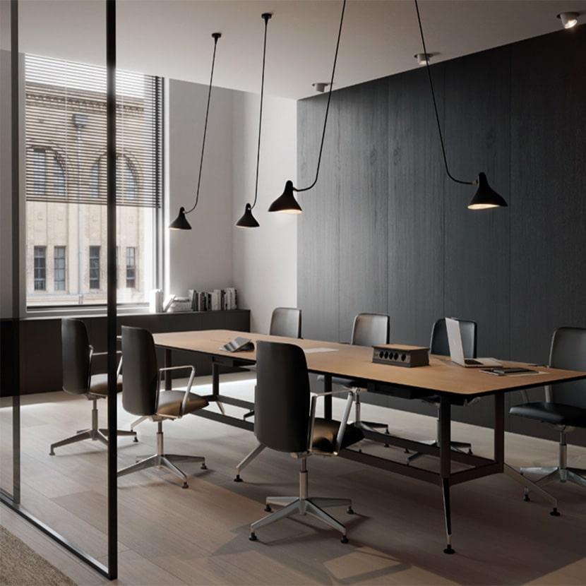 Mesa de oficina DRONE para reuniones - 3C Equipamientos