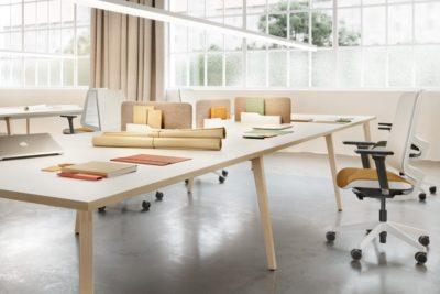 Máxima integración del mobiliario de oficina: Timber