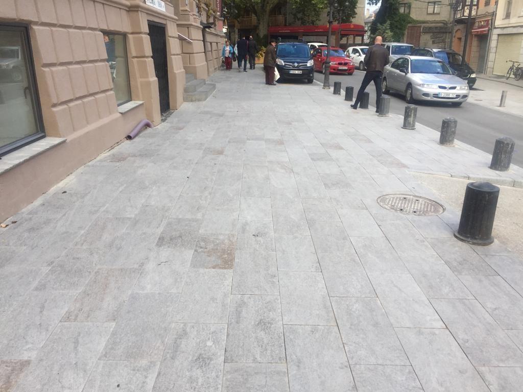 la dureza del pavimento de exterior de piedra natural sinterizada