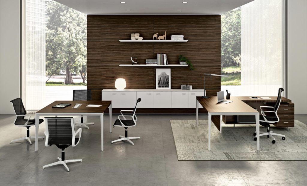 Diseño en mobiliario de oficina.