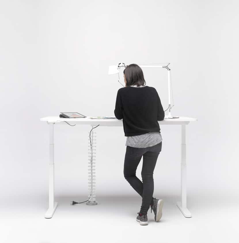 mobiliario para trabajo de pie