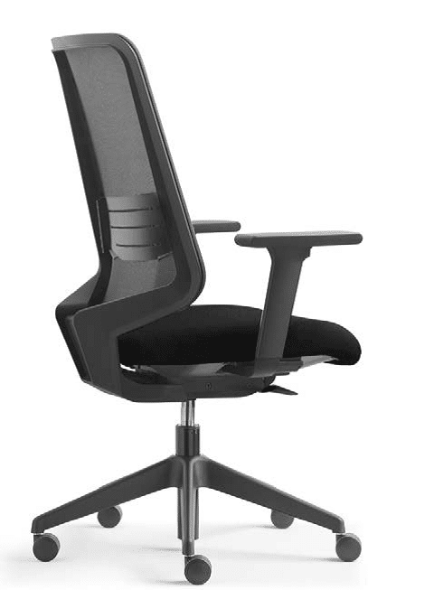 silla de trabajo en casa o silla de teletrabajo